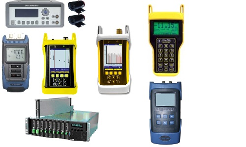 Fiber optic test equipment